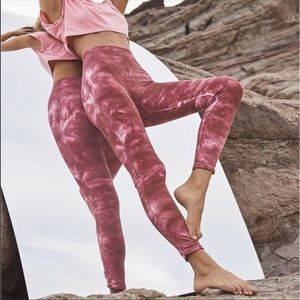 Free People Movement Barely There Tie Dye Legging